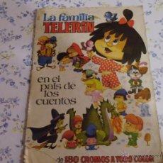 Coleccionismo Cromos antiguos: LA FAMILIA TELERIN EN EL PAIS DE LOS CUENTOS CROMOS SUELTOS A 1 € LA UNIDAD. Lote 195243630