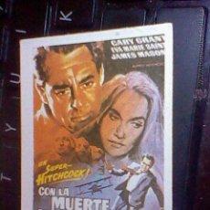 Collezionismo Figurine antiche: CROMO RECUPERADO VIDEO GUAY 1984 VER FOTOS Nº 62 CON LA MUERTE EN LOS TALONES . Lote 52478155