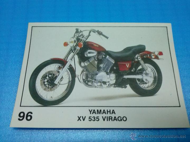 CROMO PANINI COLECCION SOLO MOTO 96 YAMAHA XV 535 VIRAGO (Coleccionismo - Cromos y Álbumes - Cromos Antiguos)