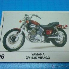 Coleccionismo Cromos antiguos: CROMO PANINI COLECCION SOLO MOTO 96 YAMAHA XV 535 VIRAGO. Lote 195342387
