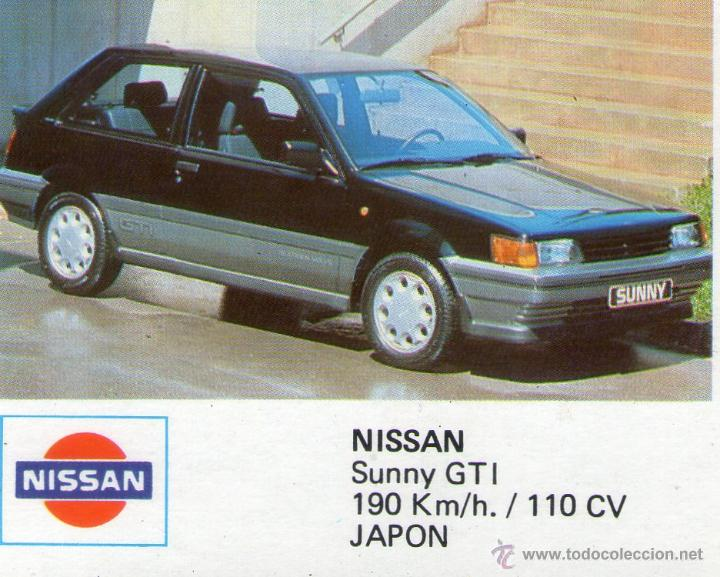 Auto 2000 Cromo Nº 87 Nissan Sunny Gti Co Comprar Cromos