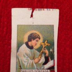 Coleccionismo Cromos antiguos: SAN LUIS GONZAGA RELIGION ¿CROMO?. Lote 52772729