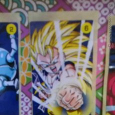 Coleccionismo Cromos antiguos: DRAGON BALL GT CHICLE CHICLETS DRAGONBALL BOLA DE DRAGON. Lote 53144921