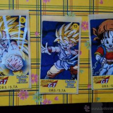 Coleccionismo Cromos antiguos: DRAGON BALL GT CHICLE CHICLETS DRAGONBALL BOLA DE DRAGON. Lote 53145071