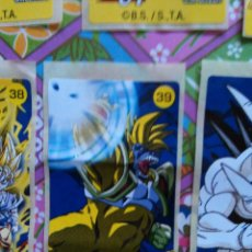 Coleccionismo Cromos antiguos: DRAGON BALL GT CHICLE CHICLETS DRAGONBALL BOLA DE DRAGON. Lote 53285453
