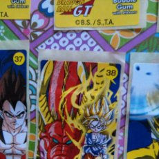 Coleccionismo Cromos antiguos: DRAGON BALL GT CHICLE CHICLETS DRAGONBALL BOLA DE DRAGON. Lote 53285456