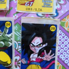 Coleccionismo Cromos antiguos: DRAGON BALL GT CHICLE CHICLETS DRAGONBALL BOLA DE DRAGON. Lote 53285469