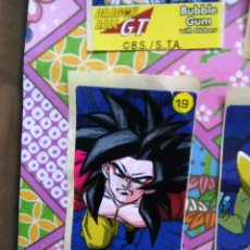 Coleccionismo Cromos antiguos: DRAGON BALL GT CHICLE CHICLETS DRAGONBALL BOLA DE DRAGON. Lote 53285483