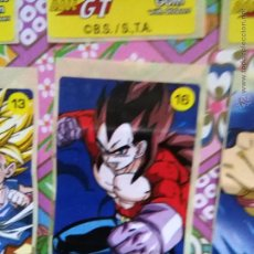 Coleccionismo Cromos antiguos: DRAGON BALL GT CHICLE CHICLETS DRAGONBALL BOLA DE DRAGON. Lote 53285498