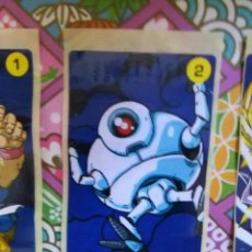 Coleccionismo Cromos antiguos: DRAGON BALL GT CHICLE CHICLETS DRAGONBALL BOLA DE DRAGON. Lote 53285538