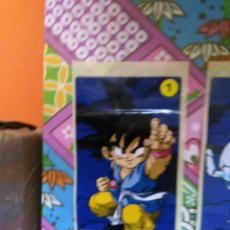 Coleccionismo Cromos antiguos: DRAGON BALL GT CHICLE CHICLETS DRAGONBALL BOLA DE DRAGON. Lote 53285541