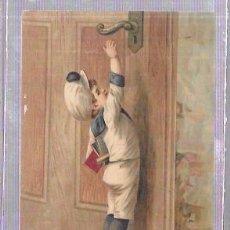 Coleccionismo Cromos antiguos: CROMO INFANTIL DEL SIGLO XIX. FARMACIA DEL LDO. J. A. BUENO.. Lote 53348440