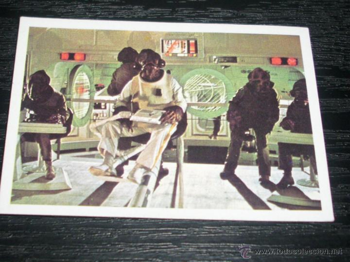-EL RETORNO DEL JEDI ,PACOSA DOS 1983 : NUMERO 191 (Coleccionismo - Cromos y Álbumes - Cromos Antiguos)
