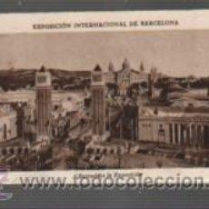 Coleccionismo Cromos antiguos: COLECCIÓN COMPLETA DE 21 CROMOS DE EXPOSICIÓN INT. DE BARCELONA - CHOCOLATES JUNCOSA - SIN PEGAR. Lote 54035483