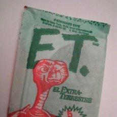 Coleccionismo Cromos antiguos: E.T. EL EXTRA-TERRESTRE - COLECCIONES ESTE 1982 - SOBRE CON CROMOS SIN ABRIR. Lote 54643447