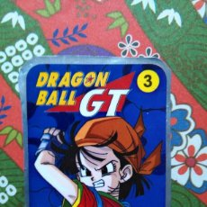 Coleccionismo Cromos antiguos: DRAGON BALL BOLA DE DRAGON GT POWER DIPS STICKER. Lote 54147383