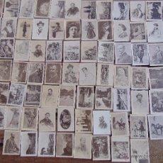 Coleccionismo Cromos antiguos: 80 CROMOS FOTOTIPIA SERIE 30 PRINCIPIOS SIGLO XX PINTORES Y CUADROS . Lote 54492889