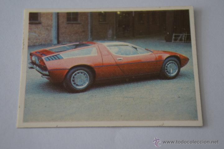 Cromo De Auto Flash Maserati Sin Pegar Nº133 Comprar Cromos