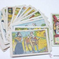 Coleccionismo Cromos antiguos: ESCENAS BATURRAS. COLECCIÓN COMPLETA. 25 CROMOS. PUBLICIDAD CHOCOLATES AL DORSO.. Lote 54509915