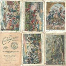 Coleccionismo Cromos antiguos: COLECCION DE CROMOS EPISODIOS NACIONALES CHOCOLATE JUNCOSA TOTAL DE 11 CROMOS. Lote 54530248