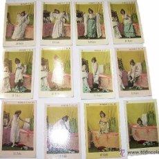 Coleccionismo Cromos antiguos: CROMOS...CROMO.......EL BAÑO........FINALES SIGLO XIX...PRINCIPIOS DEL XX.. Lote 52355822