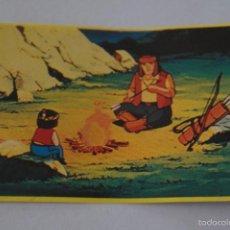Coleccionismo Cromos antiguos: CROMO DE:JACKY EL OSO DE TALLAC,(SIN PEGAR),Nº91,AÑO 1978,DEL ALBUM,JACKY EL OSO DE TALLAC,DE DANONE. Lote 137277093