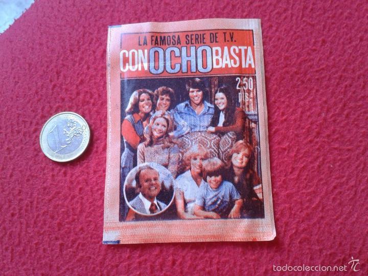 ANTIGUO Y ESCASO SOBRE DE CROMOS SERIE TV CON OCHO BASTA EIGHT IS ENOUGH FHER 1979 SIN ABRIR. SERIES (Coleccionismo - Cromos y Álbumes - Cromos Antiguos)
