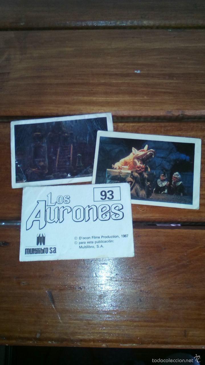 CROMO CROMOS LOS AURONES (Coleccionismo - Cromos y Álbumes - Cromos Antiguos)