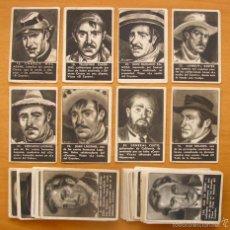 Coleccionismo Cromos antiguos: FICHERO - ARCHIVO EL COYOTE - CLIPER 1946 - LOTE DE 56 CROMOS DIFERENTES - SUELTOS A 2,50 EUROS C/U. Lote 55892461