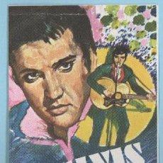 Coleccionismo Cromos antiguos: ELVIS PRESLEY - ALBUM TODO - BRUGUERA (1980). Lote 56049730