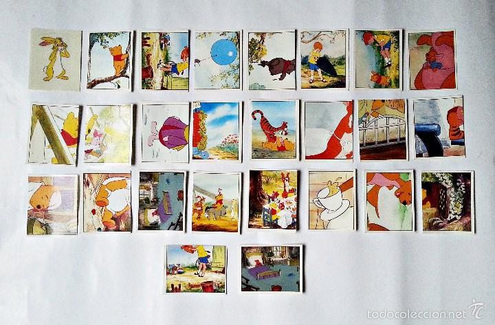 24+2 CROMOS WINNIO THE POOH DE PANINI (Coleccionismo - Cromos y Álbumes - Cromos Antiguos)