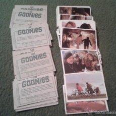 Coleccionismo Cromos antiguos: LOTE DE 69 CROMOS COLECCION LOS GOONIES PACOSA DOS 1985 NUNCA PEGADOS. SUELTOS A 0,94 EUROS. IDEAL C. Lote 42863368