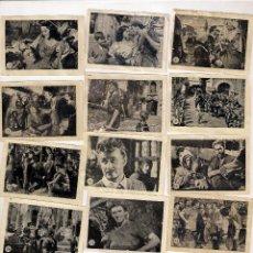 Coleccionismo Cromos antiguos: EL HALCÓN Y LA FLECHA, LOTE DE MÁS DE 60 CROMOS TAMBIEN SUELTOS A 1€. Lote 41981576