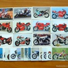 Coleccionismo Cromos antiguos: SUPER MOTO - EDITORIAL PANINI 1993 - LOTE DE 27 CROMOS DIFERENTES - SUELTOS A 0,50 C/U. Lote 255002155