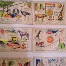 Coleccionismo Cromos antiguos: 30 CROMOS ANTIGUOS - ENCICLOPEDIA INFANTIL - COMPLETA - AÑOS 30. Lote 56522993
