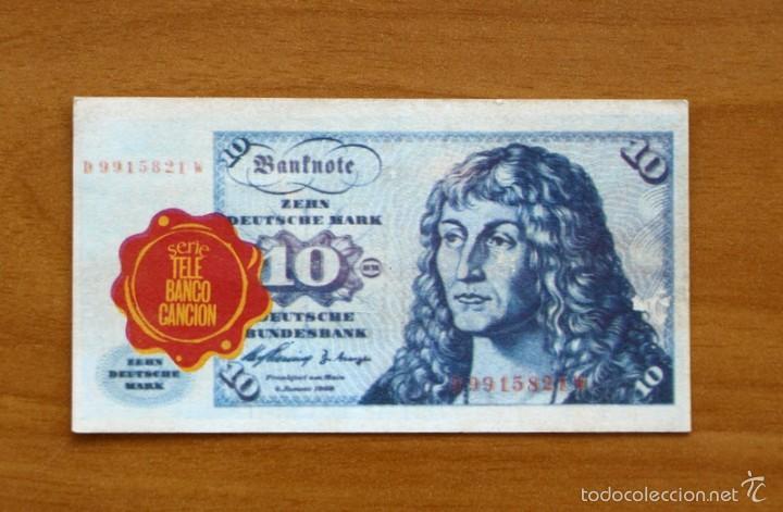 tele banco canción - cromo 10 diez marcos - Comprar Cromos antiguos ...