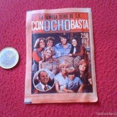 Coleccionismo Cromos antiguos: ANTIGUO Y ESCASO SOBRE DE CROMOS SERIE TV CON OCHO BASTA EIGHT IS ENOUGH FHER 1979 SIN ABRIR. SERIES. Lote 56824806