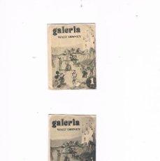 Coleccionismo Cromos antiguos: LOTE 2 SOBRES CROMOS GALERÍA WALT DISNEY WALT DISNEY SIN ABRIR CERRADO ANTIGUO. Lote 56944055
