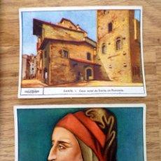 Coleccionismo Cromos antiguos: 6 GALLICROMOS SERIE Nº 2 DANTE - GALLINA BLANCA. Lote 56967745