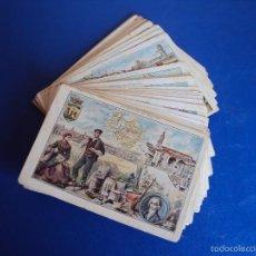 Coleccionismo Cromos antiguos: (CHO-307)CHOCOLATES PI BARCELONA GEOGRAFIA DE ESPAÑA Y PROVINCIAS COLECCION DE 50 CROMOS FALTA 1. Lote 57009322
