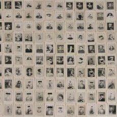 Coleccionismo Cromos antiguos: CRO-018. COLECCION DE 147 CROMOS DE CAJAS DE CERILLAS KIOSCOS EL SOL. SIGLO XIX.. Lote 51123106