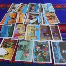 Coleccionismo Cromos antiguos: ÉRASE UNA VEZ EL HOMBRE LOTE DE 31 CROMOS CROMO NUEVO. PACOSA DOS 1978. TAMBIÉN SUELTOS. Lote 57931116