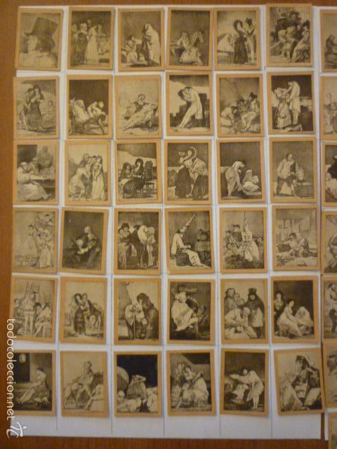 Coleccionismo Cromos antiguos: COLECCION FOTOTIPIAS SERIE 29 LOS CAPRICHOS DE GOYA COMPLETA. - Foto 3 - 58102459