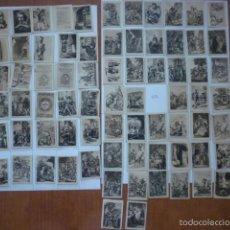 Coleccionismo Cromos antiguos: COLECCION FOTOTIPIA DEL QUIJOTE. FALTA NUMERO 57.. Lote 58102814