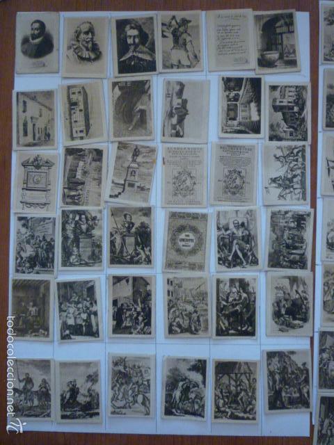 Coleccionismo Cromos antiguos: COLECCION FOTOTIPIA DEL QUIJOTE. FALTA NUMERO 57. - Foto 2 - 58102814