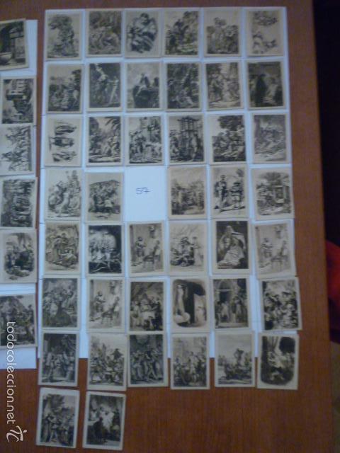 Coleccionismo Cromos antiguos: COLECCION FOTOTIPIA DEL QUIJOTE. FALTA NUMERO 57. - Foto 3 - 58102814