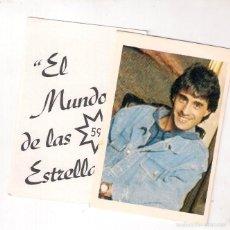 Coleccionismo Cromos antiguos: SERGIO DALMA, CROMO AUTO ADHESIVO DE EL MUNDO DE LAS ESTRELLAS. Lote 210842899