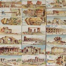 Coleccionismo Cromos antiguos: CRO-054. COLECCION DE 34 CROMOS. MONUMENTOS. CHOCOLATE ARUMI. VICH. CIRCA 1940. . Lote 58422473