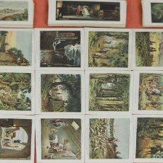 Coleccionismo Cromos antiguos: CRO-055. COLECCION DE 90 CROMOS. DON QUIJOTE DE LA MANCHA. CHOCOLATE ARUMI. CIRCA 1930. . Lote 58422865