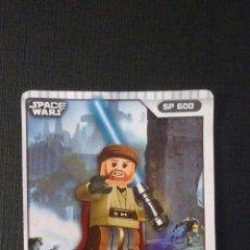 Coleccionismo Cromos antiguos: CROMO TARJETA LEGO STAR WARS GUERRA DESPERTAR FUERZA COMPATIBLE. Lote 58638640